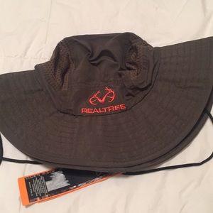 Real tree sun hat